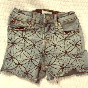 Hudson 2t cutoff Jean shorts